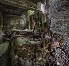 Eureka The Contraption (billmclaugh) Tags: urban plant black abandoned industry photoshop canon rust industrial factory pennsylvania lick machinery adobe urbanexploration processing mineral coal hdr highdynamicrange tse lightroom urbex tiltshift on1 markiii 17mm f4l photomatix promotecontrol perfecteffects kovalchickcorp
