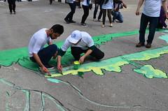 DSC_0073 (Al Ahliyya Amman University) Tags: street flowers students colors painting colorful university pretty time weekend president amman happiness jo jordan characters aau joyful       ccbysa  ahliyya          balqa      alsaro