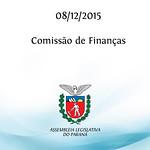 Comiss�o de Finan�as 08.12.2015