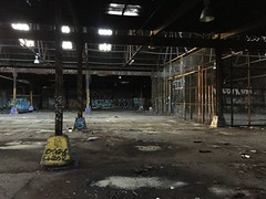 IMG_5505 (Hypurban) Tags: nyc newyork abandoned brooklyn graffiti head warehouse wax smells abandonedwarehouse brooklyngraffiti waxhead graffitiyard cash4