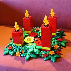 Vierter Advent _ Fourth Advent (*hannes*) Tags: advent lego adventwreath adventskranz duplo vierter