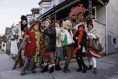 347/365 - Holiday Hons! (Dorret) Tags: christmas cold laughing fun outside holidays december photoshoot dusk 34thstreet cheer beehive hampden hon hons 2015