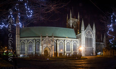 Day 343: Minster Panorama (Howie1967) Tags: night church christian cofe england christmas xmas religion norfolk great yarmouth