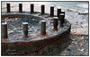 World War II Remnants (juliewilliams11) Tags: outdoor photoborder history metal rust old decay portstephens newsouthwales australia contrast worldwarii defense grey