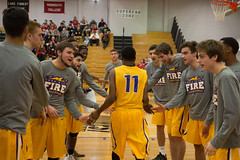 Men's Basketball 2016 - 2017 (Knox College) Tags: knoxcollege prairiefire men college basketball monmouth athletics sports indoor team basketballmen201738064