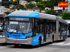 6 3001 Mobibrasil (busManíaCo) Tags: mobibrasil caio millennium brt articulado mercedesbenz o500uda bluetec 5 busmaníaco nikond3100 bus ônibus urbano rodoviário