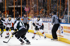 "Missouri Mavericks vs. Utah Grizzlies, December 28, 2016, Silverstein Eye Centers Arena, Independence, Missouri.  Photo: John Howe / Howe Creative Photography • <a style=""font-size:0.8em;"" href=""http://www.flickr.com/photos/134016632@N02/31587631540/"" target=""_blank"">View on Flickr</a>"