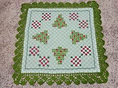 11 (AneloreSMaschke) Tags: bordado tecido xadrez natal artesanato handmade bordadoxadrez