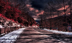 Il Viaggio (* landscape photographer *) Tags: italy landscapephotographer paesaggio nature natura strada road snow tree clouds colors colori nuvole sunset tramonto flickr 2017 nikon nikkor 1020