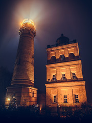 Lighthouse Kap-Arkona - Schinkelturm (Thomas Paal Photography) Tags: lighthouse leuchtturm kaparkona kap arkona ostsee germany deutschland new year long exposure langzeitbelichtung nachtaufnahme rügen nikon d610 sigma art 24mm f14