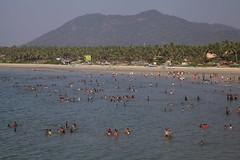 (jeet_sen) Tags: sea sand beach people sun travel india karnataka mangalore udupi malpe murudeshwar honnavar kundapura kodi kapu tourism island konkan