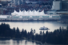 Canada Place - Vancouver, Canada (The Web Ninja) Tags: vancouver canada van vancity west broadway place canadaplace downtown downtownvancouver stanleypark stanley park cityscape photography photographer photograph canon 70d architecture