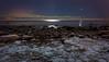 Moonlit Lauttasaari (JuNu_photography) Tags: winter shore lauttasaari frozen