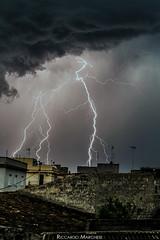 Lightning (BryzePhoto) Tags: amazing art clouds cielo campobellodimazara sicily italy cloud cloudy emotions emotion fulmine fulmini lightning thunderbolt house life lights light luci longexposure lungaesposizione moment nature natura nuvole sky sera