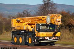 STODDART CRANE HIRE GROVE GMK3050-1 KNZ 5884 (denzil31) Tags: stoddart crane hire grove gmk 30501 knz 5884 muiroford cranes heavycranedivision