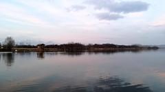 Misty dusk (Alessio Bertolone) Tags: water acqua landscape paesaggio lake lago lagodicandia misty nebbioso nebbia fog atmosphere atmosfera italia italy light luce colori colors riflessi reflections