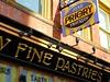 Fine Pastries (e r j k . a m e r j k a) Tags: pittsburgh deutschtown northside eastohio signs bakery erjkprunczyk