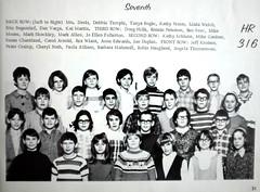 HR 316 Mrs Davis 7th grade homeroom Central Junior High School Ames Iowa 1969 Echo Yearbook Robin Haugland Fletcher front row 2nd from right probably taken 1968 at age of 12 DSCF2250 (ameshighschool) Tags: 1968 1969 1974ahs 316 7th 7thgrade ahs1974 ahsaa allen allison ames amesiowa ameshighclassof1974 arnold barbaramahlstede bogenrief bogie carolarnold central centraljuniorhighschool chantland cherylnath classmate classmates crump danvarga davis debbietemple doughills dupler echo edwards ericbogenrief fletcher fullerton gardner haugland hills homeroom jondupler juniorhigh juniorhighschool kaimartin kathypeters kathyschlunz knutsen lindawelch mahstede markallen martin mikegardner moore paulaallison petercrump peters peterson rexwiant robinhauglandfletcher ronniepeterson schlunz school shockley svec tanyabogie temple timmerman varga welch wiant wwwameshighorg yearbook