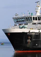 Calmac ferry 'MV Caledonian Isles' (Dave Russell (700k views)) Tags: calmac caledonian macbrayne isles island ferry boat ship vessel bow vehicle passenger public roro rollon arran scotland outdoor water harbor harbour arrivival arriving sea ocean marine maritime rolloff clyde