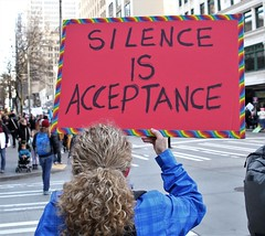 Silence is Acceptance (sea turtle) Tags: silence acceptance silenceisacceptance seattle march women womxn woman womensmarch womxnsmarch seattlewomensmarch seattlewomxnsmarch protest demonstration politics political 4thavenue civilrights equalrights justice equality love fairness lovetrumpshate hillaryclinton donaldtrump liberty sign crowd city downtown