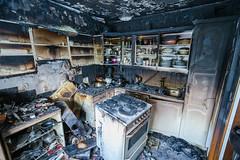 OBRE-utbrent-kjøkken-Rustad-7 (oslobrannogredning) Tags: kjøkkenbrann tørrkok bygningsbrann brann brannskader utbrent komfyr koketopp matlaging