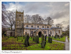 St Giles Church, Derbyshire (Paul Simpson Photography) Tags: stgiles church nature churchtower january2017 graves stonebuilding clouds lgg3 headstones paulsimpsonphotography path derbyshire peakdistrict trees greatlongstone villagechurch photosof imagesof winter derbyshiredales