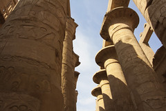 Karnak Temple Complex - Hypostyle Hall Pillars (Life_After_Death - Shannon Renshaw) Tags: karnak egypt temple complex pillar pillars history antiquity ruins ruin building architecture ancient luxor thebes tour tourism sky column columns canon canoneos canoneos50d 50d eos dslr canondslr eosdslr canoneos50ddslr photography lifeafterdeath lifeafterdeathstudios lifeafterdeathphotography shannonday shannondayphotography shannondaylifeafterdeath lifeafterdeathstudiosartandphotography shannondayartandphotography