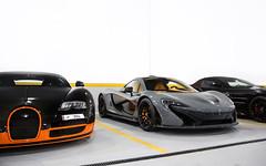 Spec, Strong. (Alex Penfold) Tags: mclaren f1 grey supercars supercar super car cars autos alex penfold 2017 qatar orange bugatti veyron wre supersport slr 722s mercedes garage collection