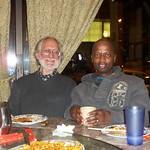 Professor Kagan and CAS graduate student Mbhekiseni, December 2010
