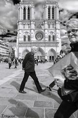 Parigi 2817 (kingeston) Tags: kingeston nikon parigi paris francia france notre damme street bw bn bianco nero black white noir blanc monochrome monocromo