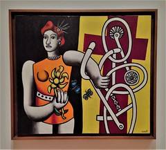Big Julie (ArtFan70) Tags: bigjulie fernandléger léger fernandleger leger museumofmodernart artmuseum moma midtownmanhattan midtown manhattan newyorkcity nyc newyork ny unitedstates usa america art painting
