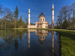 mosque reflection (Blende1.8) Tags: spiegelung reflection castle castlegarden schwetzingen schloss schlossgarten mosque moschee bluesky park schlosspark architecture architektur carstenheyer wideangle voightlän voigtländer voigtlaender sony alpha ilce7m2 a7m2 a7ii 12mm ultra wideheliar f56 iii ultrawideheliar12mmf56iii outdoor color colors vivid colours colorful