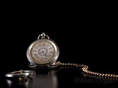 Watch (AlanOrganLRPS) Tags: time antique watch chain lowkey pocketwatch fob lostproperty