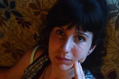 Paqui (@mjota) Tags: portrait love home mom retrato cansada hogar pensativa