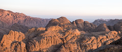 Vista desde el Monte Sinaí