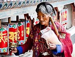 "Monpa Woman_Monastery (Paul Nicodemus) Tags: travel people mountains rain clouds landscapes skies azure adventure journey solo odyssey assam himalayas valleys unplanned tawang natives bomdila tezpur ""westbengal"" ""arunachalpradesh"" ""bumlapass"" ""selapass"" ""paulartography"" ""paulnicodemus"