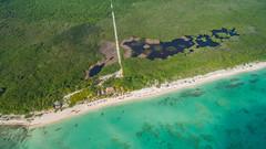 Palancar Beach aerial Cozumel Mexico