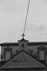 Vilnius Church (Sofa Santos) Tags: church cross religion iglesia cables lithuania vilnius struck