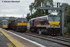 8209, 071 and 22006 at Kildare, 18/9/15 (hurricanemk1c) Tags: irish train gm rail railway trains enterprise railways 209 irishrail rok 201 rotem nir kildare generalmotors 2015 emd icr 071 iarnród 22006 22000 8209 lightengine éireann northernirelandrailways iarnródéireann 3pce 1415heustonportlaoise ladentimber 1150claremorriswaterford athloneinchicore