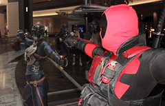 Kroenen vs. Deadpool (greyloch) Tags: costumes photoshop cosplay marvel hellboy dragoncon comicbookcharacter 2015 kroenen deadpool comicbookcostume rule63