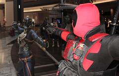 Kroenen vs. Deadpool (greyloch) Tags: costumes photoshop cosplay marvel hellboy dragoncon comicbookcharacter 2015 kroenen deadpool comicbookcostume rule63