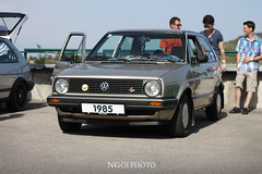 1985 Volkswagen Golf (NGcs / Gábor) Tags: volkswagen vw german car vwhu hungarian hungary golf mk2 a2 hungaroring mogyoród mkii mark2 markii