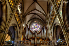 Rose Window - Santiago Cathedral (AL.MM) Tags: bilbao hdr rosetn
