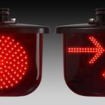 踏切警報灯/列車進行方向指示器の写真