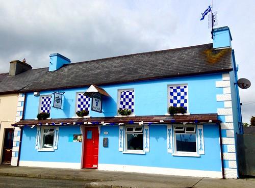 Blue and White pub
