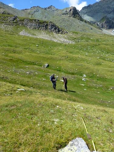 Hohe Tauern - GPR Messung(August 2015)