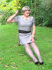 Greyboyswing-003 (fionaxxcd) Tags: nipples bob crossdressing bust tranny crossdresser stilettoes pearlnecklace trannie mtf m2f tansvestite greytights