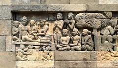 Jogja 1759 (raqib) Tags: architecture indonesia temple java shrine buddha stupa buddhist relief jogja yogyakarta yogya buddhisttemple borobudur basrelief magelang candi javanese mahayana buddhistmonastery borobudurtemple djogdja sailendra djogdjakarta