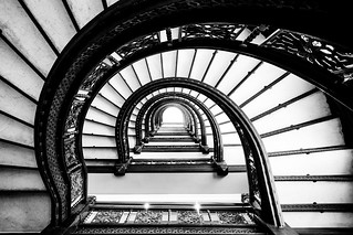 The Rookery's oriel staircase