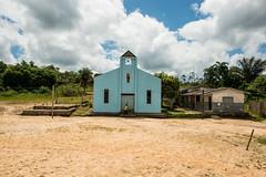 Igreja no Rio Mamuru, Pará, Brasil